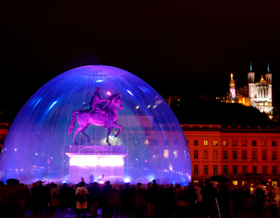Lyon lights festival