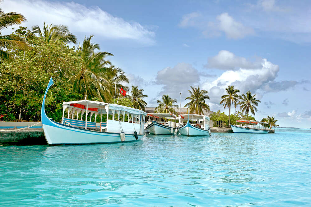 maldives boats