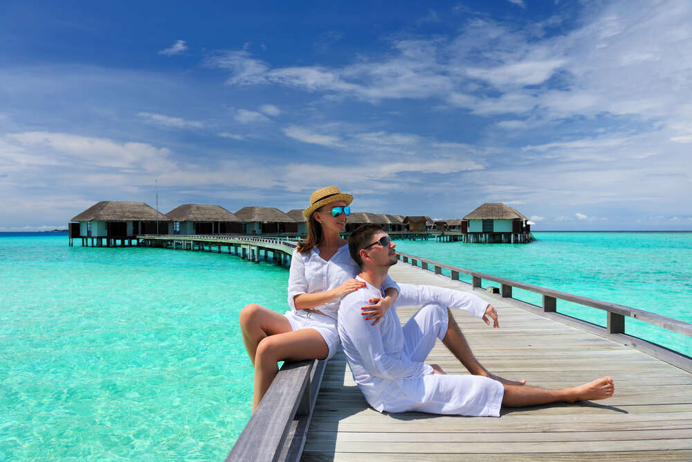 maldives couple