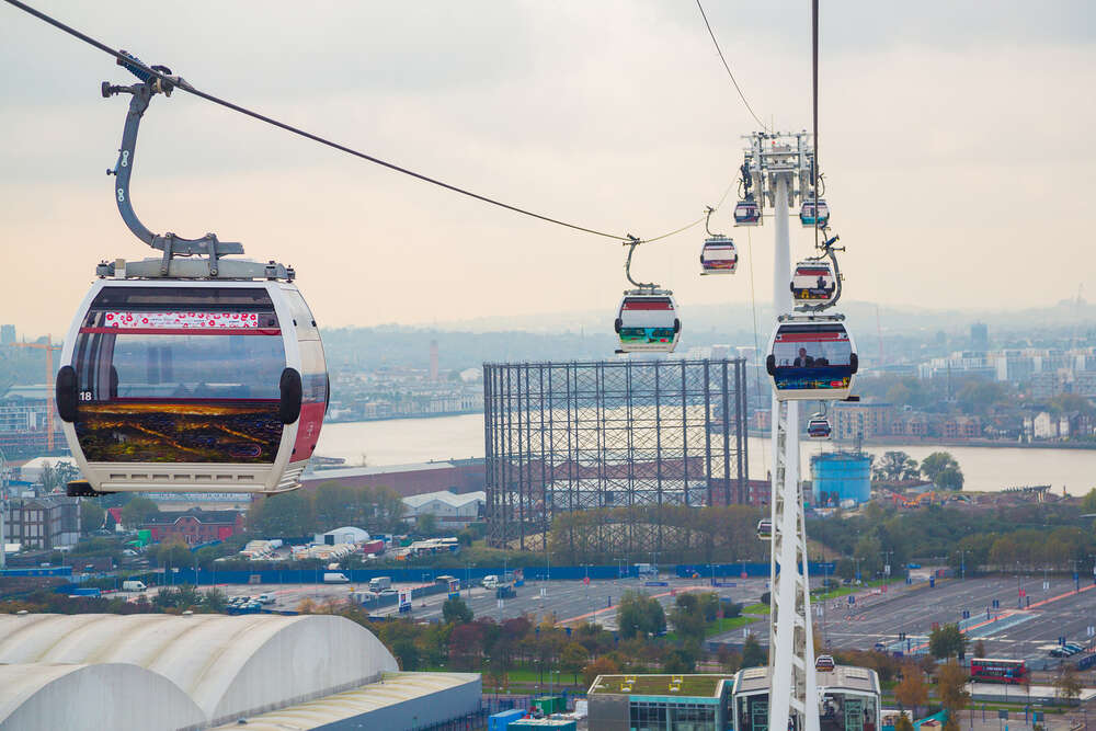 cable car over the Thames